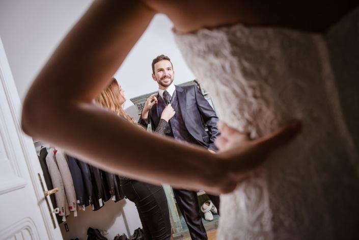 Bräutigam | Hochzeit | Fotograf