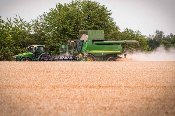 Erntezeit | Landwirtschaft | Fotografie Maschinen