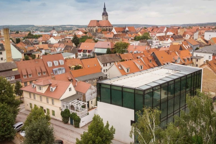 Luftaufnahmen Immobilien   Stadtfotos   Naumburg  Sachsen-Anhalt