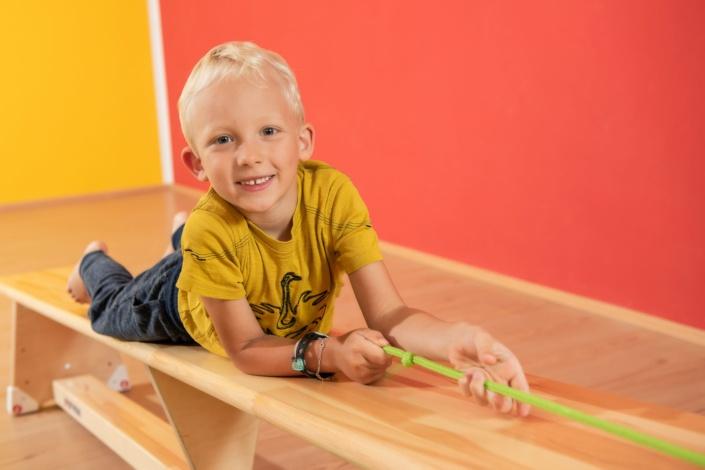 Kind beim Sport | Kindersport |Kinderfoto
