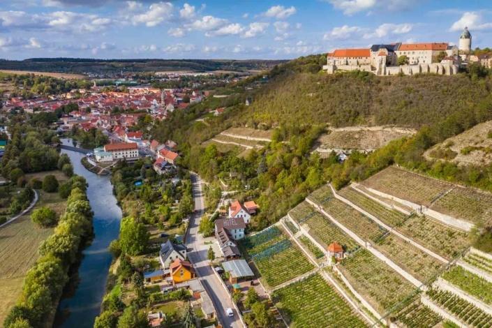Aerialphotography   Luftbild   Freyburg