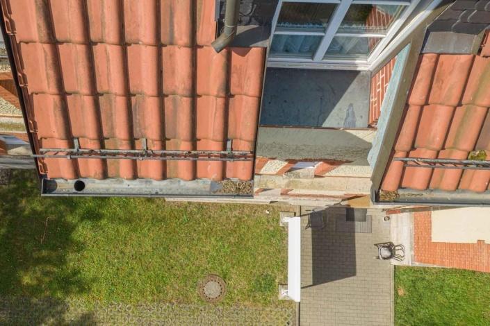 Immobilie   Drohnenfotograf   Revisionsflug