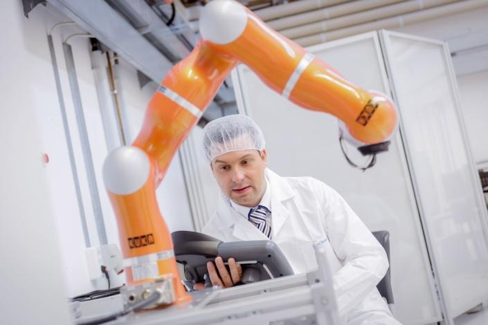 Überprüfung Roboter | Fotograf Ostsee