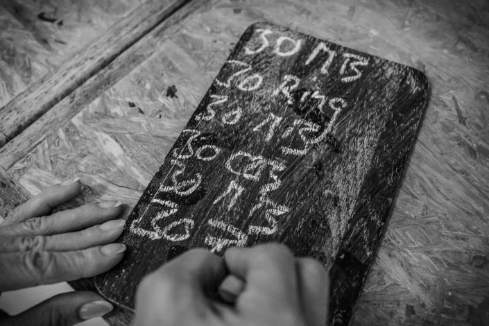 Kreidetafel | Foto | Detailfoto Tafel