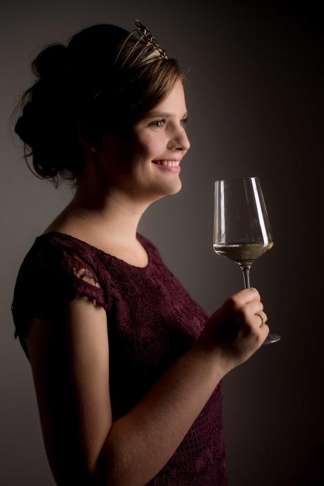 Weinmajestät   Porträt   Imagefoto