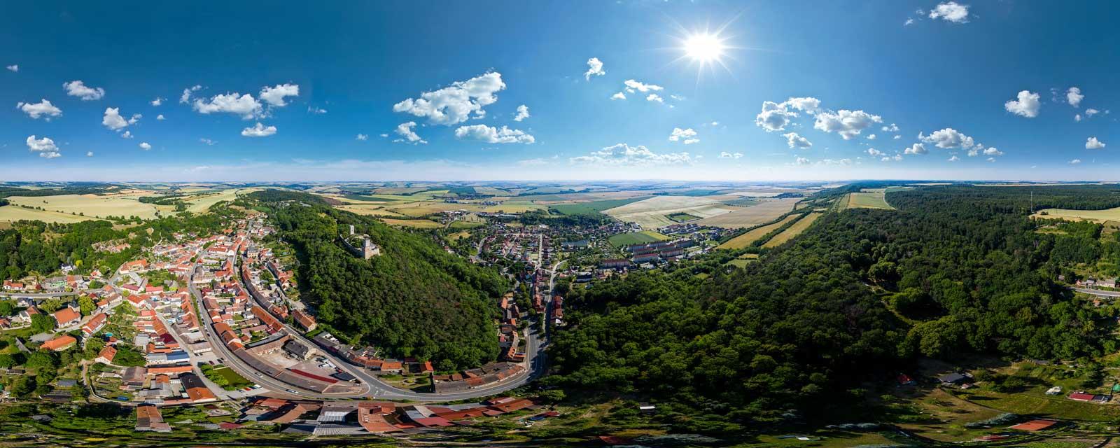 360Grad   Luftaufnahme   Luftpanorama   Drohne
