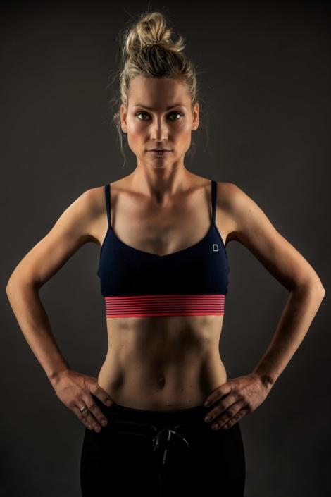 Portrait Sportlerin