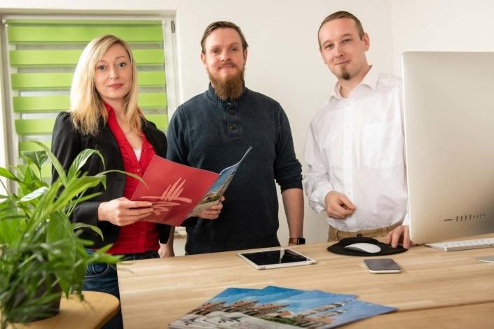 Teamfoto Agentur mit Katalog