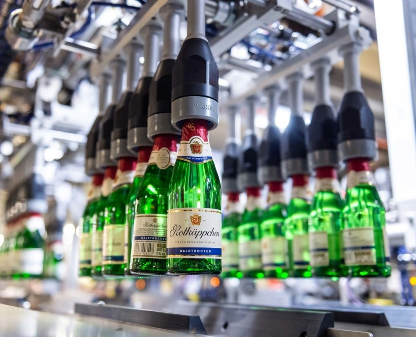 Rotkäppchensekt Piccolo in Verpackung