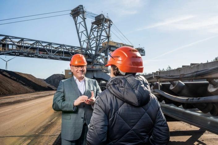 Reportage im Bergbau Götz Ulrich - Landtagswahl 2021